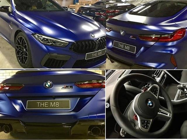 Exkluzívne zábery BMW M8: 625 koní + z 0 na 100 km/h za 3,3 s.!