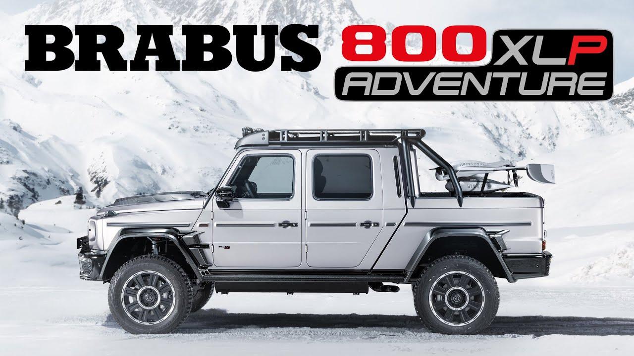 BRABUS 800 XLP Adventure beštia s dronom