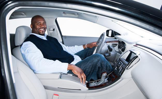 Shag natlačený v Buicku