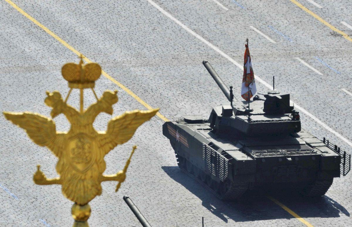 Najnovší ruský tank T-14 s výkonom 2 000 koní!