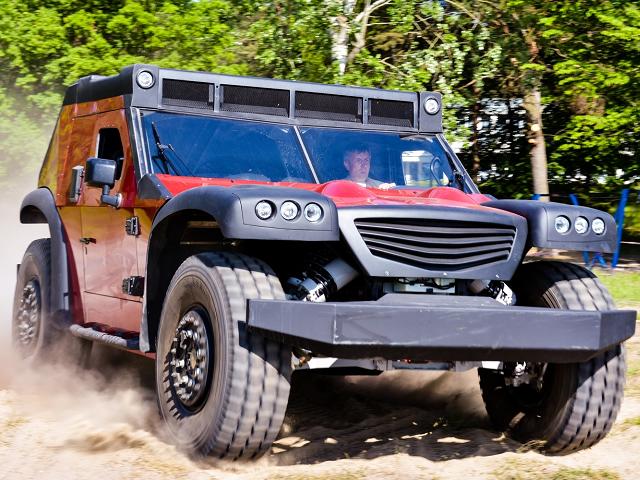 Funter - Heavy duty SUV z Poľska!
