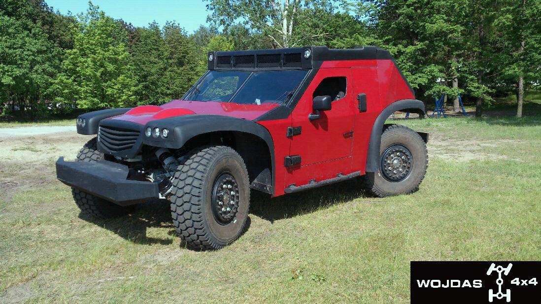 Funter - Heavy duty SUV z Poľska