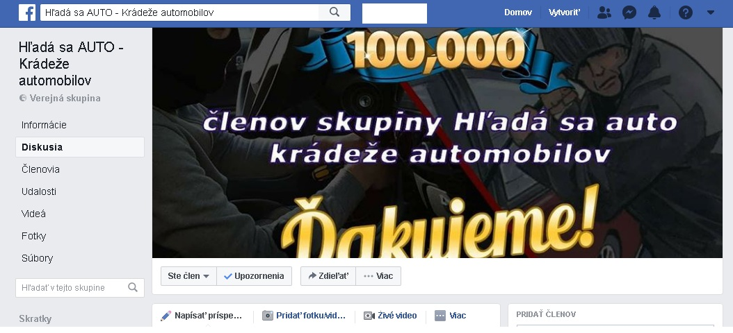 Aplikácia Haka: Slováci si hľadajú kradnuté autá sami!