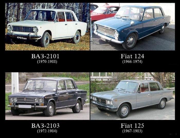 VIDEO: autá, ktoré Rusi skopírovali od západu!