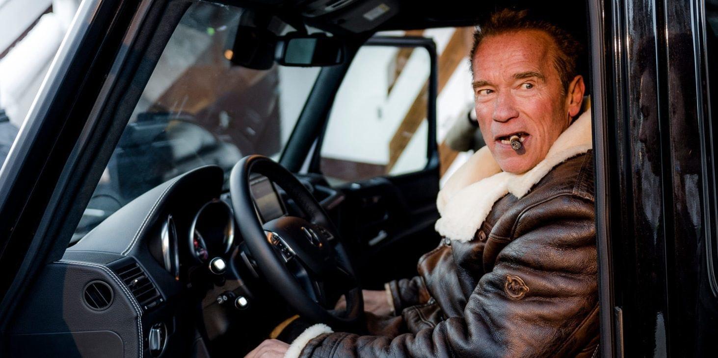Schwarzenegger testuje nového Terminátora!