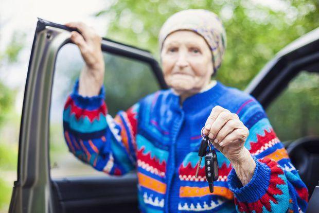 Stereotypy vs. štýl jazdy dôchodkyne
