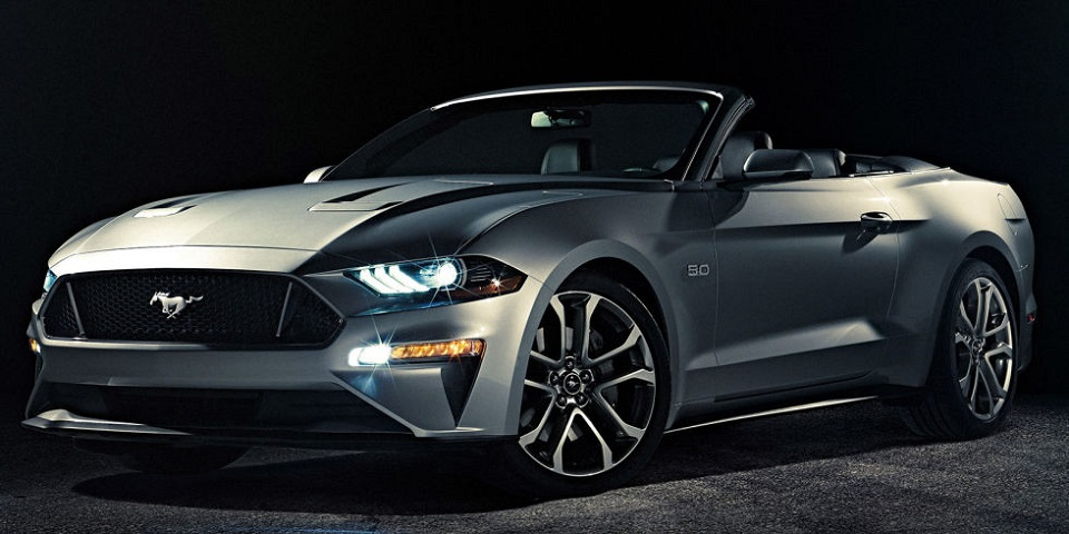 Ford Mustang 2018 convertible je tu!