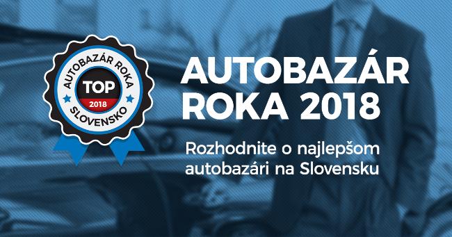 Slováci rozhodli o najlepšom Autobazáre roka 2018