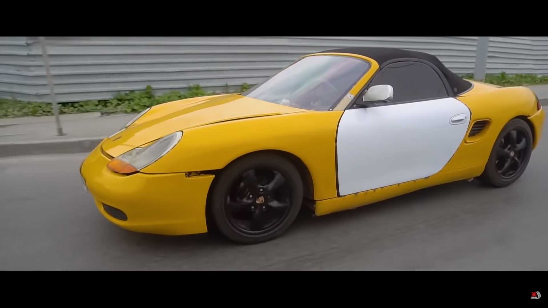 Žiadne Porsche, toto je prerobená Lada!