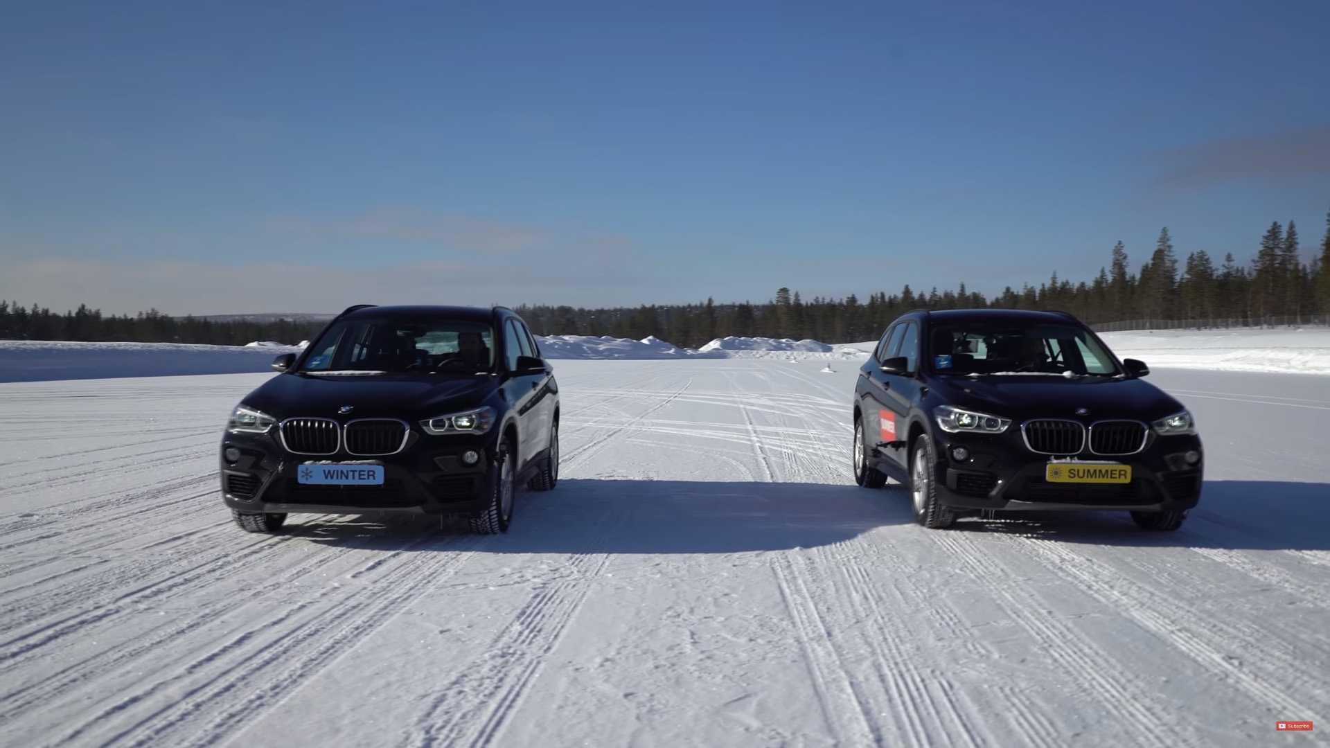 VIDEO: letné pneumatiky a 4x4 vs. zimné a pohon prednej nápravy