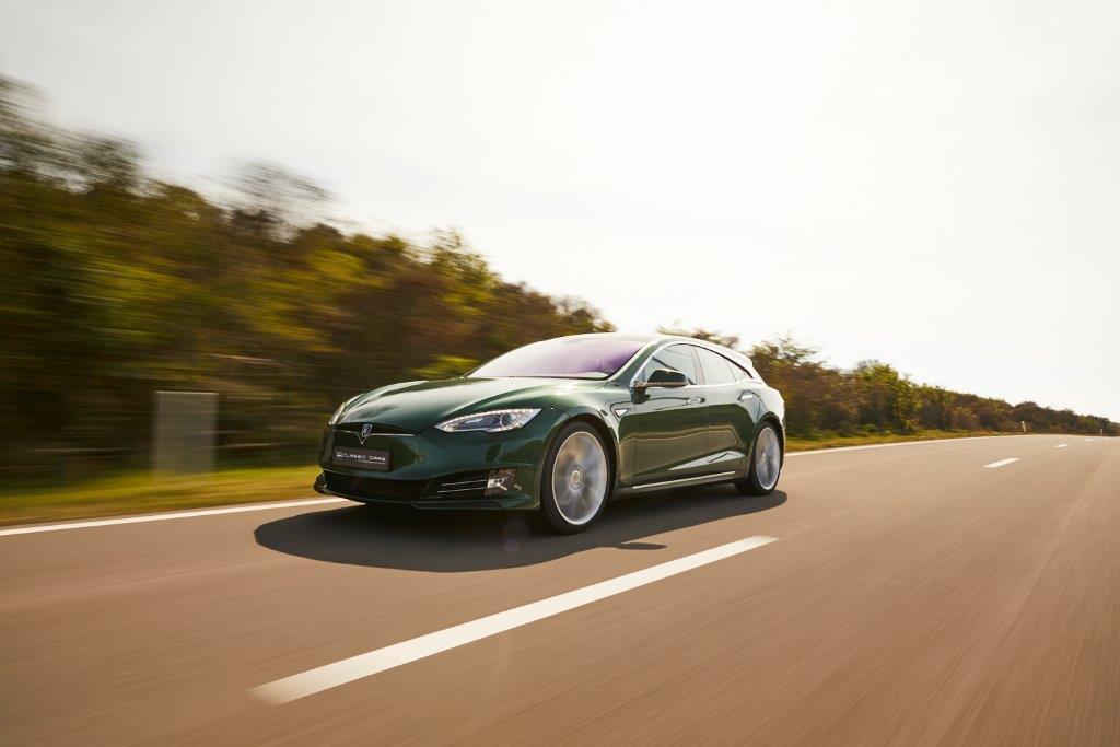 Tesla Model S kombi. 1 kus na svete, 224 000 €!