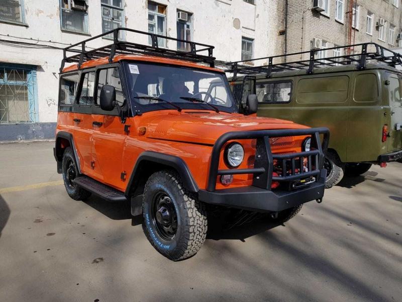 UAZ Hunter Expedition 2019