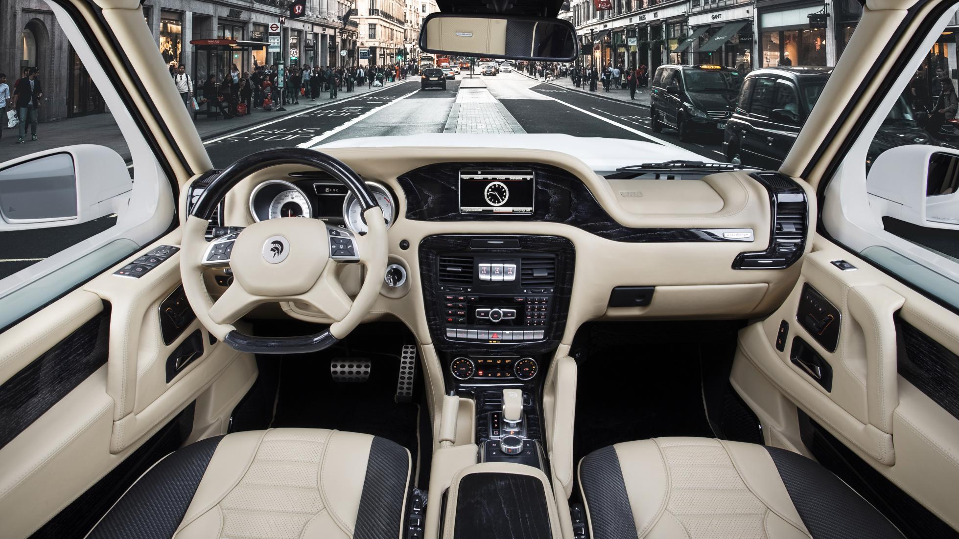 Upravený Mercedes G63 AMG: X-Raid od ARES Design!