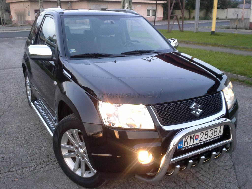 suzuki grand vitara 1 6 vvt jx lpg black white za autobaz r eu. Black Bedroom Furniture Sets. Home Design Ideas