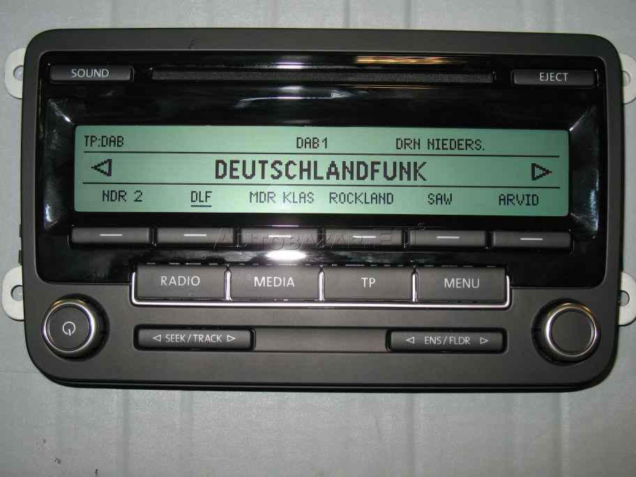 rcd 310 mp3 autoradio vw za 100 00 autobaz r eu. Black Bedroom Furniture Sets. Home Design Ideas
