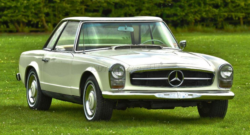 Mercedes benz 230sl za autobaz r eu for 57 mercedes benz