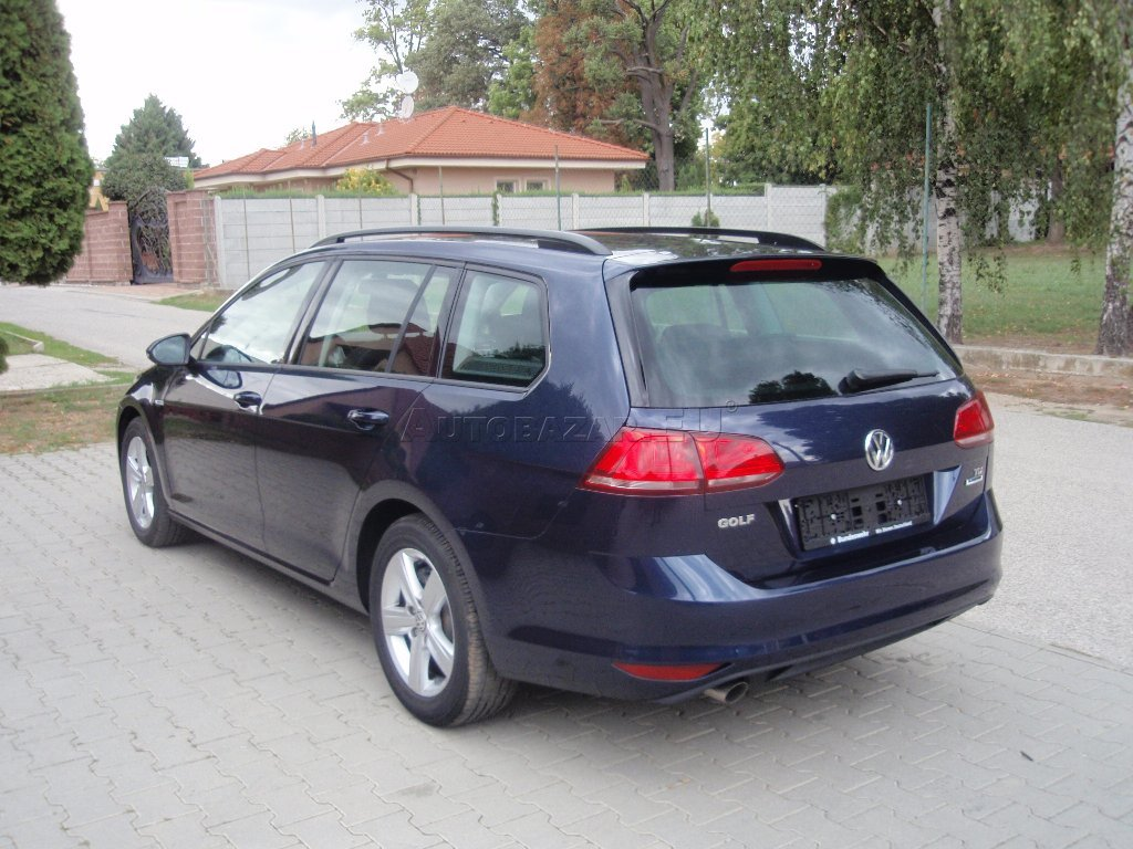 volkswagen golf variant vii 1 6 tdi bmt 110k comfortline. Black Bedroom Furniture Sets. Home Design Ideas