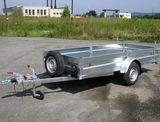 Prívesný vozík brzdený 2,5x1,25m - NOVÝ