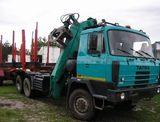 Tatra 815 lesovoz+ruka+príves