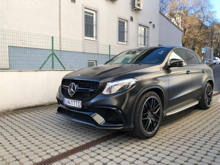 Mercedes GLE trieda AMG  63 S kupé 4matic A/T
