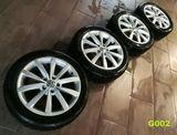 Zimné pneu disky kolesá VW GOLF VII 7  5G0601025K