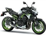 Kawasaki Z 900 A2 Pearl Blizzard White / Metallic Spark Black