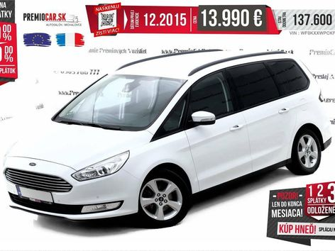Ford Galaxy 7Miest 2.0 TDCi Executive