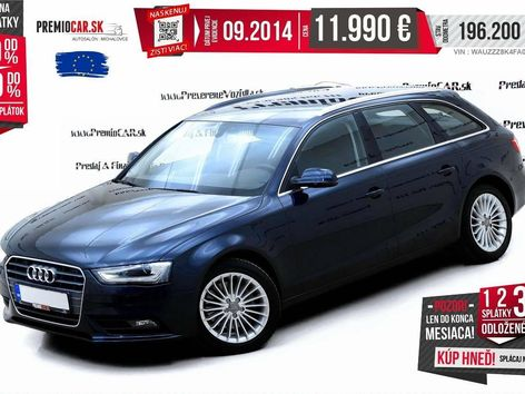 Audi A4 Avant V6 3.0 TDI 204Koní Premium
