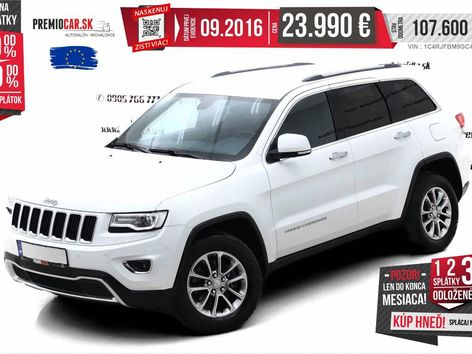 Jeep Grand Cherokee 4x4 3.0 CRD AT AWD Limited