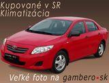Toyota Corolla 1.33 I Dual VVT-i Sol