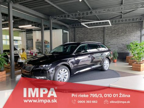 Škoda Superb Combi 2.0 TDI 190k Style EU6