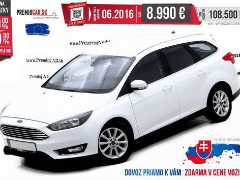 Ford Focus Kombi 1.5 TDCi 120hp Titanium