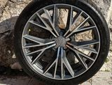 Original disky Audi + letné pneumatiky