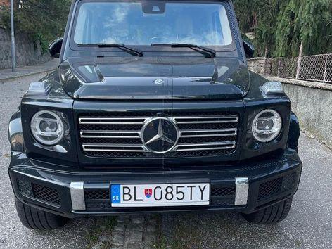 Mercedes G trieda G500