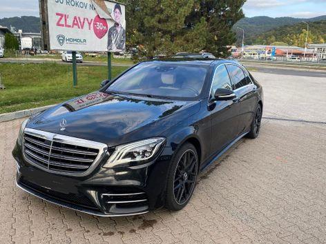 Mercedes S trieda 400 CDI L AMG